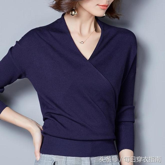 有肚子的女人別亂穿衣,10款巧藏贅肉的針織衫,更適合有韻味的你