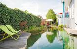 庭院設計:紅牆綠竹和魚池,彷彿坐在故宮裡賞花釣魚,絕美好花園
