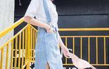 學院風十足的揹帶裙,少女的心水之選,遮肉顯瘦又青春減齡