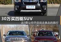 30萬預算,買四驅靠譜,能越野的SUV,有哪些好車推薦?