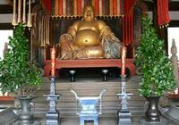 京都黃檗山萬福寺天王殿供奉 清代佛像範道生造 布袋和尚坐像