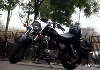 """國產最像哈雷的V型雙缸摩托車,錢江""""巡航者""""QJ250-J售價12000"""