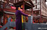 春風沐浴的時節,來到寶雞蔡家坡三國小鎮遊玩是不錯的踏春