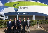 澳洲中央昆士蘭大學與濱州學院簽署合作辦學協議