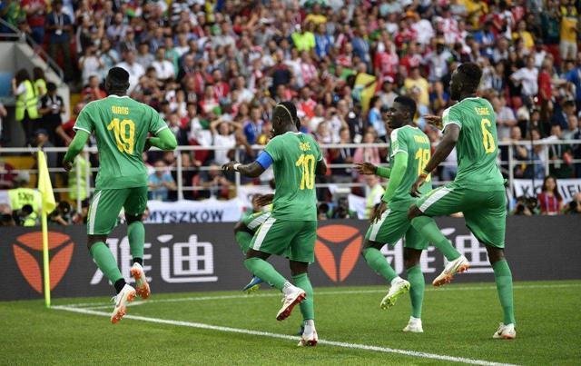 非洲杯:肯尼亞VS塞內加爾 塞內加爾勇者無敵