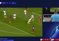 歐冠熱刺禁區手球VS意甲尤文禁區手球  一樣的手球不一樣的命運!