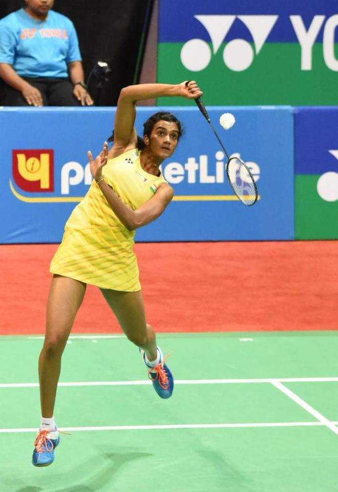 羽毛球——2017印度公開賽:辛德胡女單奪冠