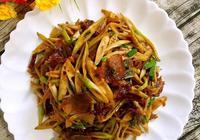 竹筍炒臘肉的做法