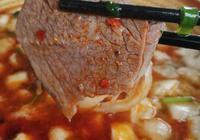 陝西乾縣一村子藏了一家泡饃店,肉鮮湯香,西安人開車來吃