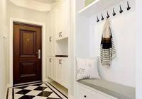 101㎡美式風格家居,大氣玄關+強大儲物功能,美觀實用!