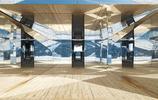 藝術家在瑞士雪山上建造了一棟玻璃屋,從任何角度觀賞都很神奇
