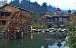 在黔東南肇興侗寨旅行的日子,最愛山中清新的空氣