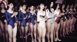 老照片:1993年內地的選美大賽:琴棋書畫樣樣精通