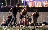 拉斯維加斯槍擊案現場圖集
