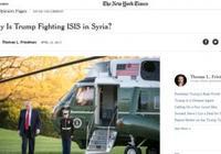 """紐約時報暗示特朗普應支持""""敘利亞的ISIS"""""""