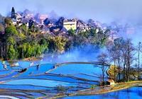 那山、那水、那雲霞,大美中國!美極了~