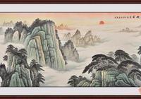 且看畫家把山的奇偉、水的纏綿、把心的夢想,勾勒成山水美畫!
