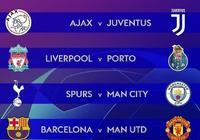 歐冠1/4決賽對陣出爐,為什麼曼城的奪冠賠率第一,巴薩和尤文屈居第二呢?