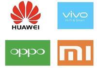 想买手机,小米、华为、vivo 和oppo哪个好?