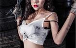 韓國美女模特演繹性感汽車維修工,網友直呼:最美修車女工!