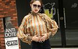 涼秋微涼,一件時尚年輕的秋季蕾絲雪紡小衫,秋季也要時髦的過