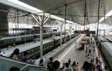 運轉天津-寶雞T58/5次列車去北京西站,本務機車有亮點