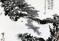 潘天壽最後一幅作品