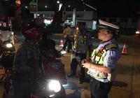 整治貨車統一行動日 勐臘交警在行動
