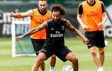 皇家馬德里球員正在海外集訓,阿扎爾開始慢慢融入到球隊之中