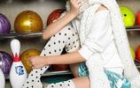 漂亮的日本女優 佐佐木希變身性感保齡球女神