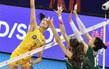 朱婷得分王!2019世界女排聯賽北侖站中國3:0保加利亞精彩圖集
