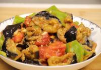 紅燒茄子的家常做法,美味又下飯菜,做法簡單,5分鐘就學會
