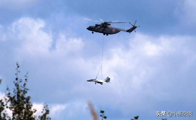 米-26:世界現役最重直升機   可同時搭載2輛裝甲車和80名士兵