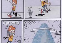 """阿衰漫畫:阿衰睡覺還發出笑聲,原來是夢到了一座""""臭豆腐山"""""""