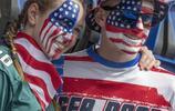 2019年世界盃足球賽F組,美國和智利足球比賽精彩現場照片