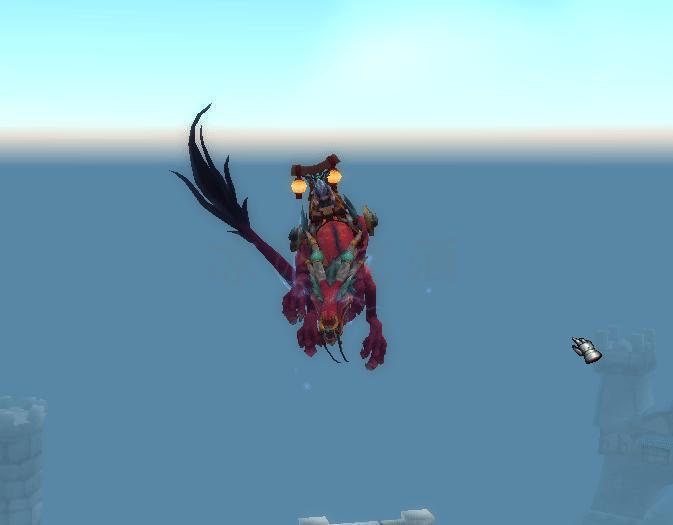 魔獸世界:雷霆紅玉龍已改為可交易 手裡有多餘天之裂片注意一下