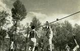 1940年老照片:日本鬼子鐵道隊在張家口孤石村