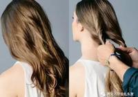 長燙髮髮型怎麼紮好看?設計感滿分的長燙髮扎發教程