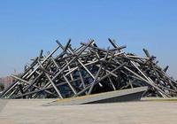 中國奇異建築之合肥美術館,鳥巢是熟練的鳥搭的,這是新手鳥搭的
