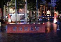 惠州河南岸數碼商業街夜景