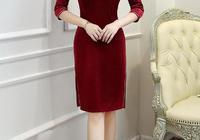 看見這三款旗袍裙,選擇困難症犯了,到底哪款漂亮呢?