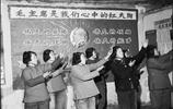 一組70年代中國老照片,圖6英姿颯爽的女民兵