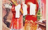 80年代高清精美年畫,賈寶玉和林黛玉,滿滿的回憶