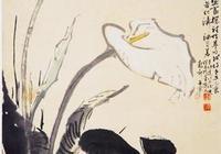 專題國畫之二十七——馬蹄蓮