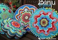 「布藝作品」漂亮的抱枕和提花民族風服飾作品欣賞