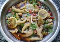 這道檸檬雞爪要常給家人做、營養好吃又開胃、做法跟材料都很簡單
