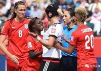 女足世界盃:英格蘭女足食硬阿根廷女足