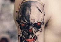 骷髏紋身,我喜歡的紋身