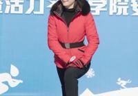 劉濤的新發型太讚了,顯嫩不止20歲,只是穿運動裝都美到不行