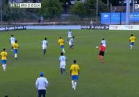 桑巴軍團超級世界波破門,5分鐘踢懵對手,五星巴西夢迴巔峰